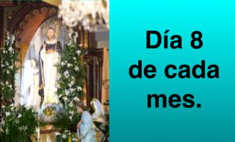 Rosario mensual a Santo Domingo