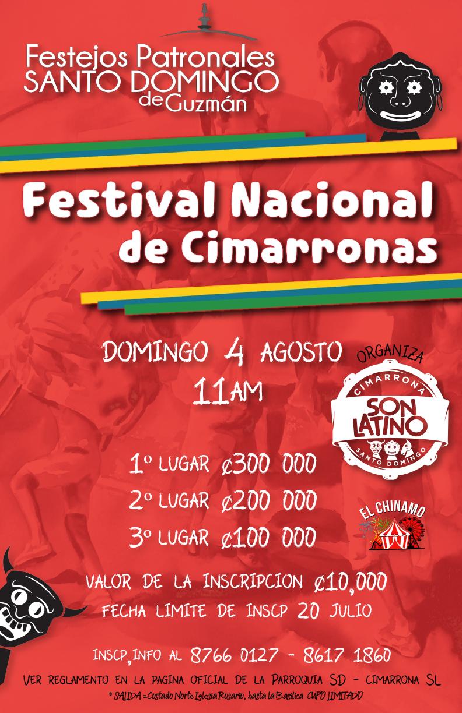 Afiche Festival de Cimarronas 2019