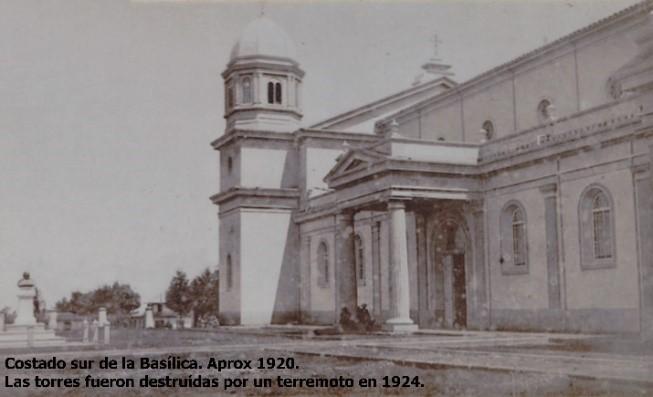 Basílica antes del terremoto de 1924